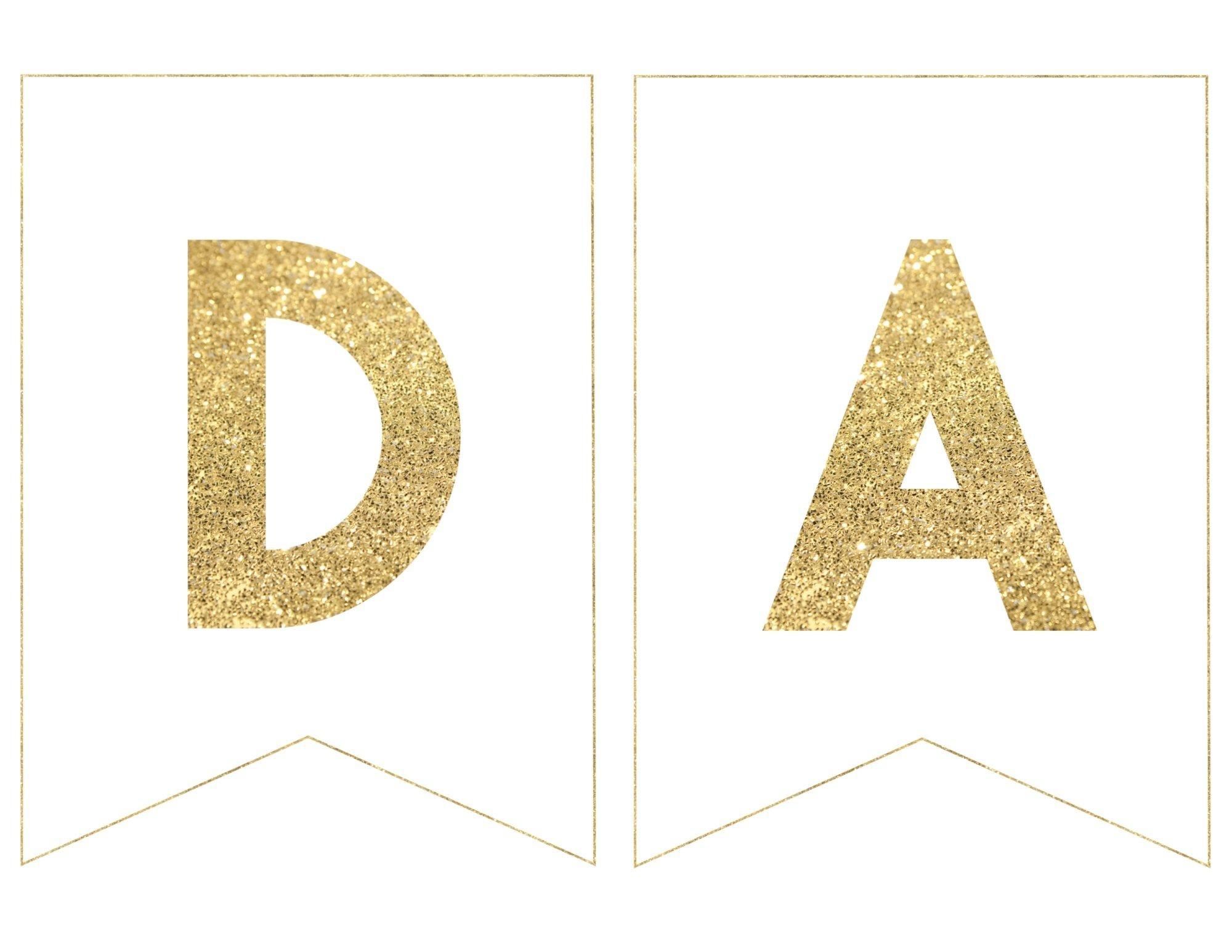 Happy Birthday Banner Printable Template | Fj Party Ideas | Happy - Birthday Banner Templates Free Printable