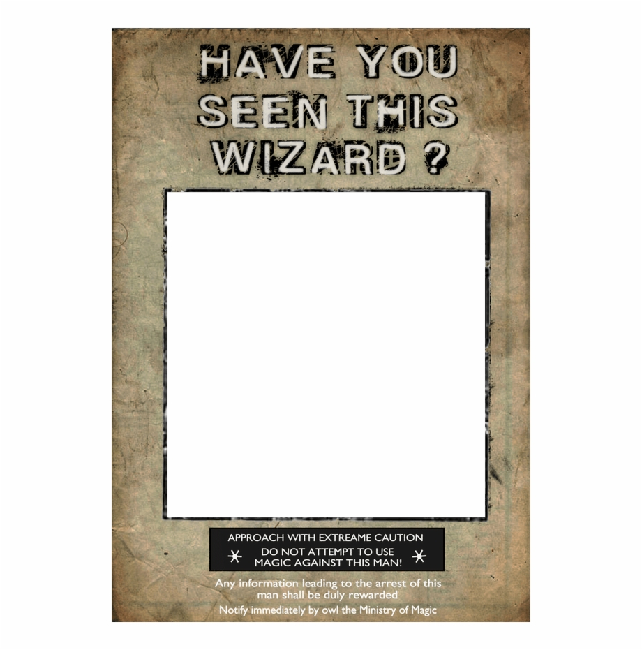 Harry Potter Wanted Poster Printable - Poster Free Png Images - Free Printable Harry Potter Posters