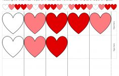 Heart Pattern Free Printable For Valentine's Day – Free Printable Valentine Heart Patterns