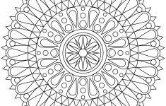 Inspirational Free Printable Mandalas Coloring Pages | Coloring Pages – Free Printable Mandalas