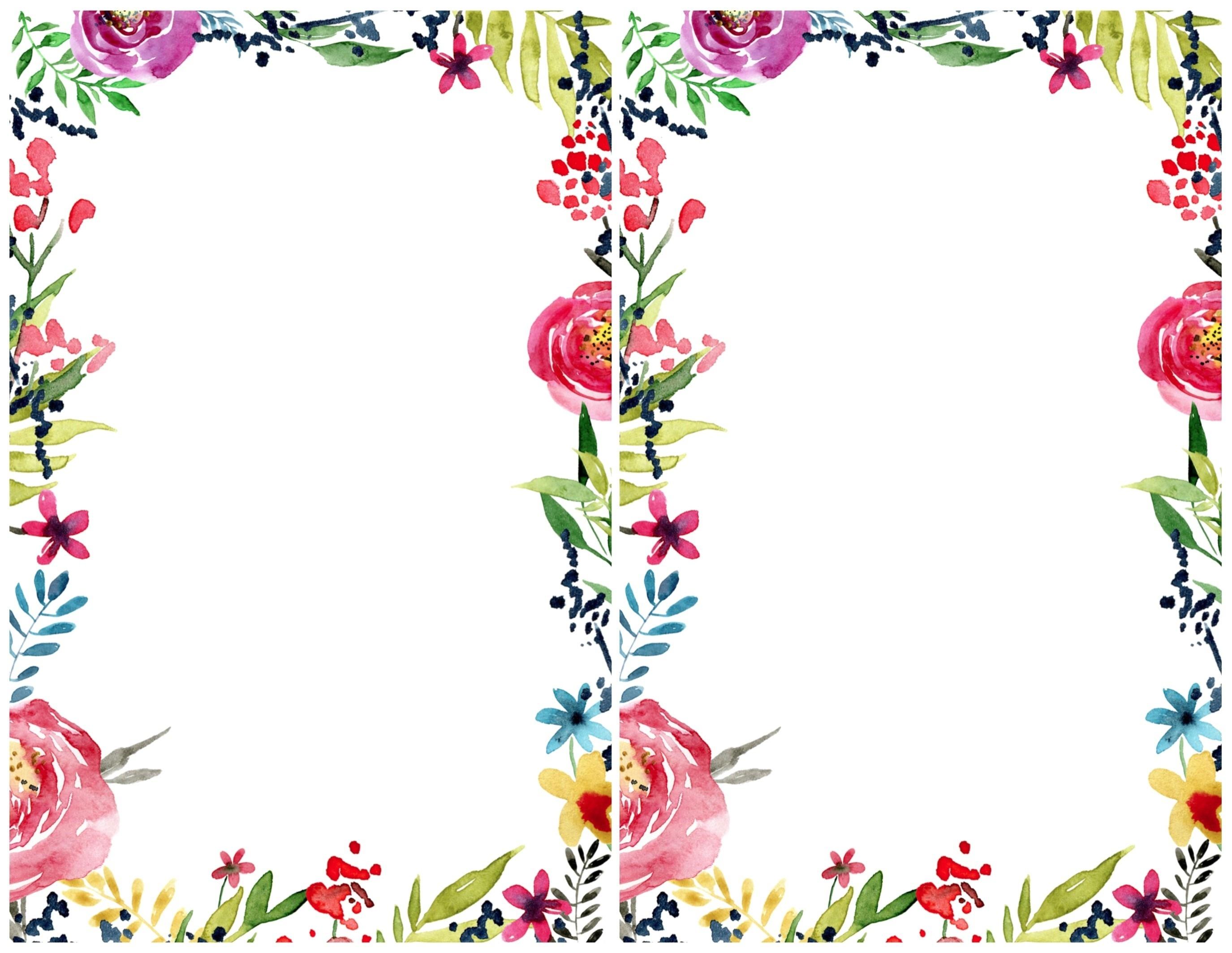 Invitation Templates Free Best Floral Borders Invitations Free - Free Printable Invitations Templates