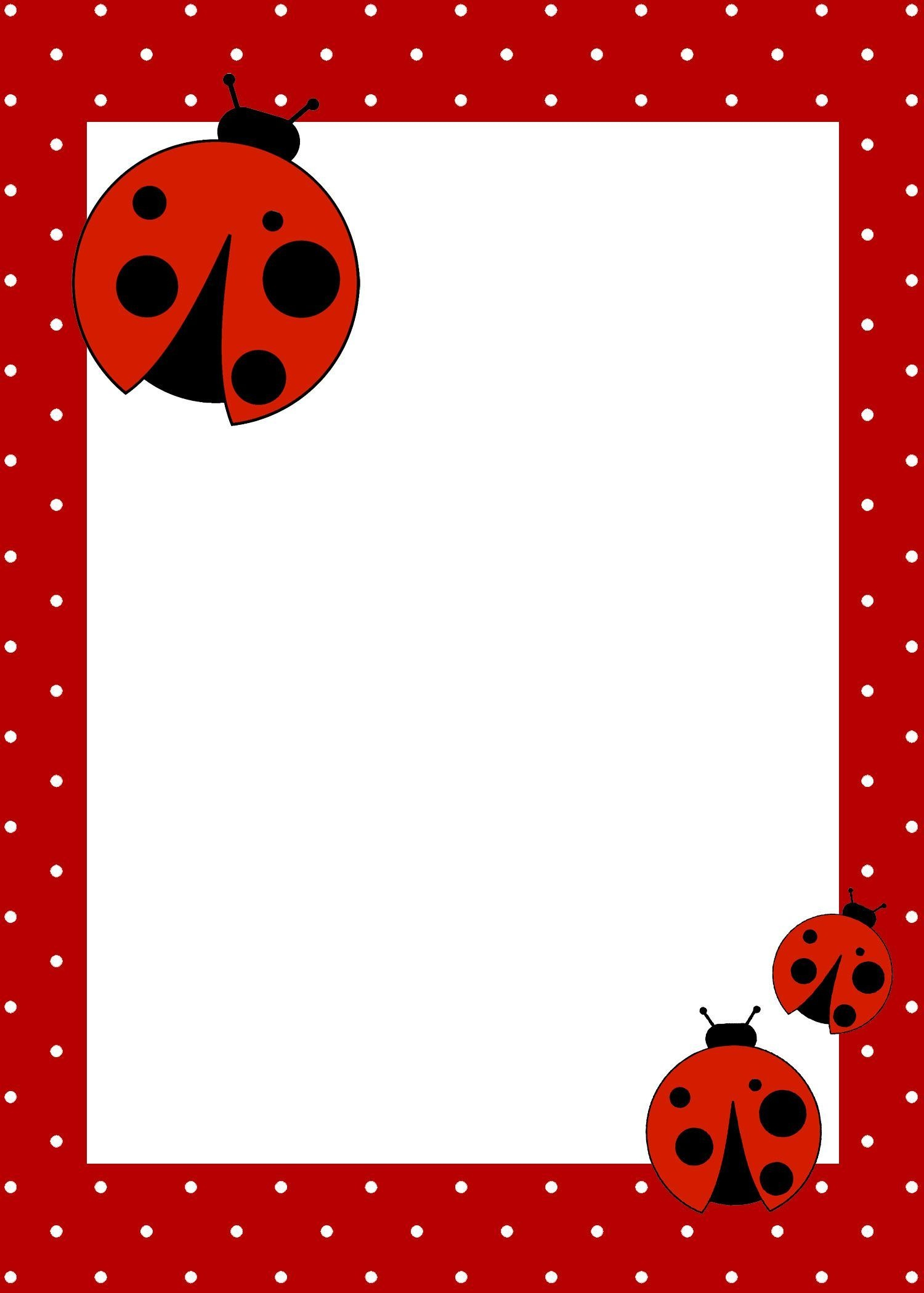 Ladybug Baby Shower Invitations Unique Birthday Free Template - Free Printable Ladybug Invitations