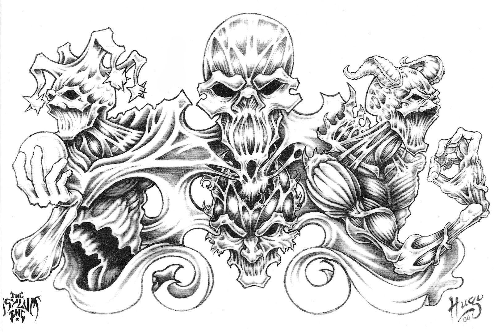 Large Free Printable Tattoo Designs | Best Quarter Sleeve Tattoo - Free Printable Tattoo Flash