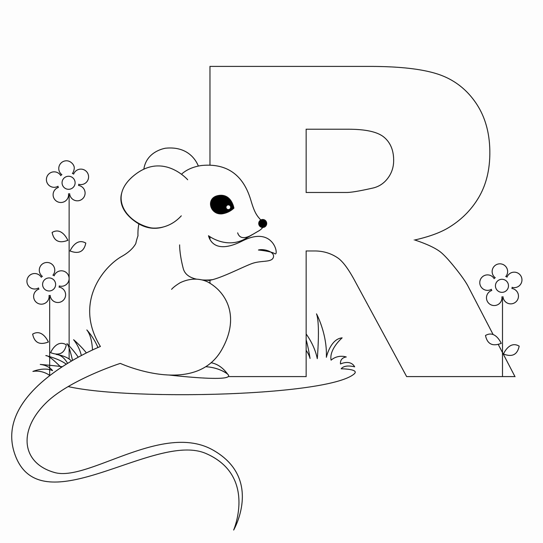 Letter Printable Coloring Pages Luxury Free Printable Alphabet - Free Printable Alphabet Letters To Color