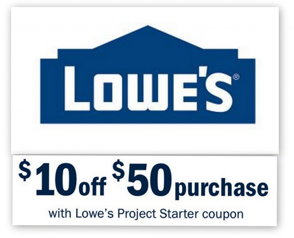 Lowes: $10 Off $50 Entire Purchase Printable Coupon | Common Sense - Free Printable Lowes Coupon 2014