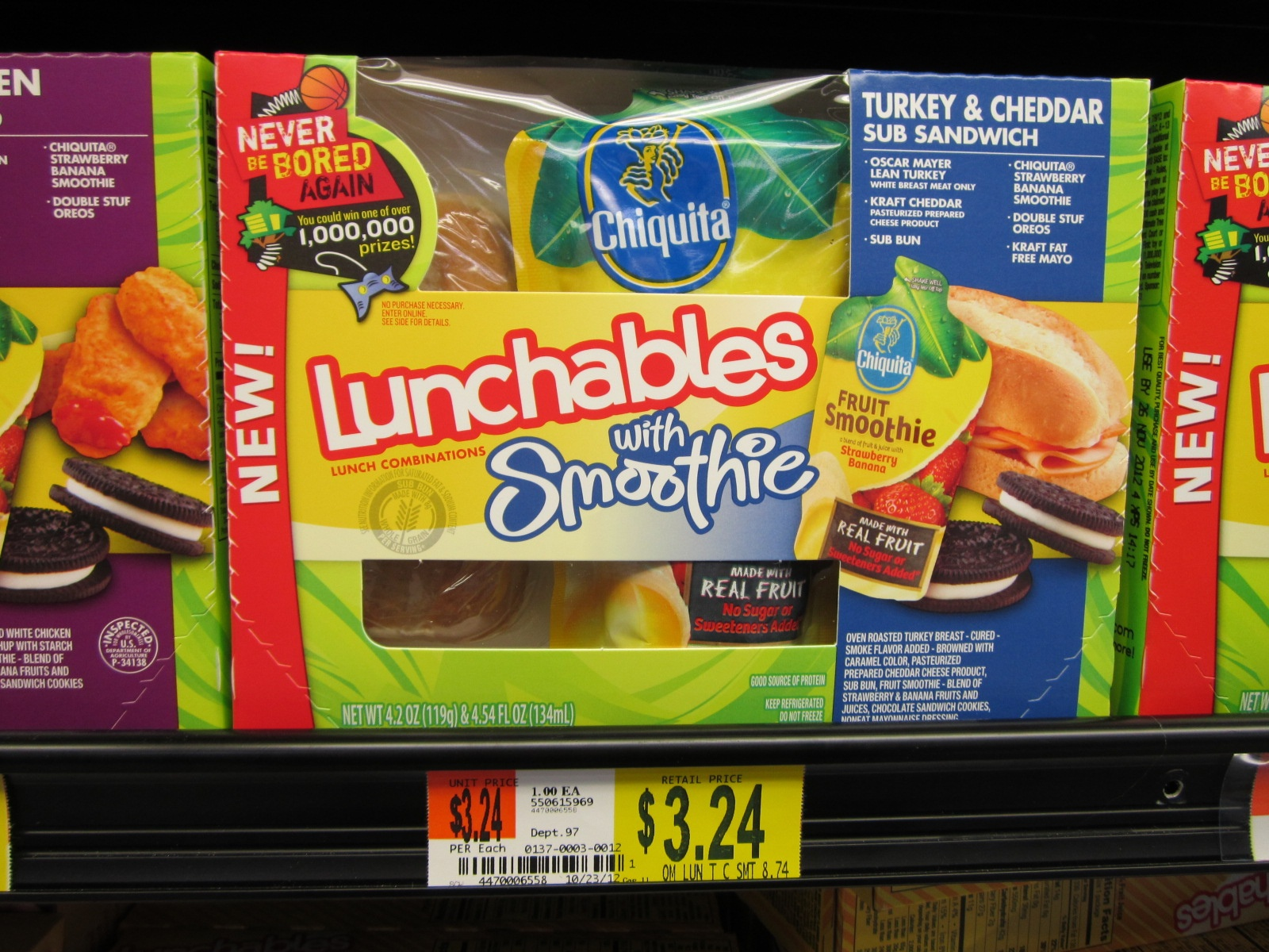 Lunchables Combinations Printable Coupon And Walmart Deal ~ Print It - Free Printable Food Coupons For Walmart