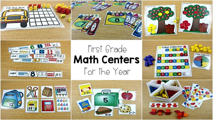 Free Printable Math Centers
