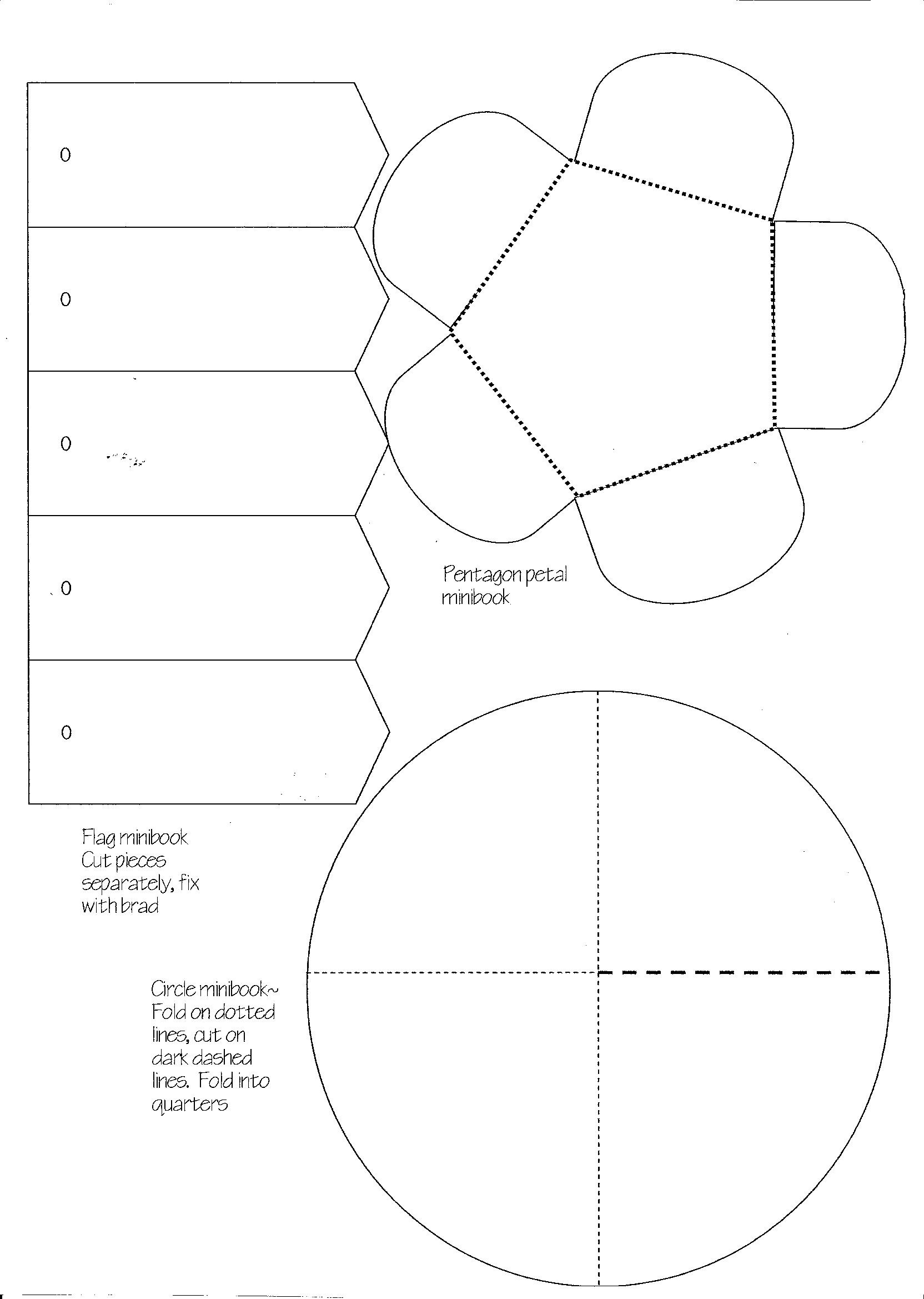 Minibook Master Template Download | Practical Pages - Free Printable Lapbook Templates