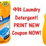 New Arm & Hammer Printable Coupons = $0.99 Laundry Detergent! - Free Printable Arm And Hammer Coupons