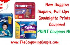 New Huggies Diapers, Pull-Ups, And Goodnites Printable Coupons! – Free Printable Coupons For Huggies Pull Ups