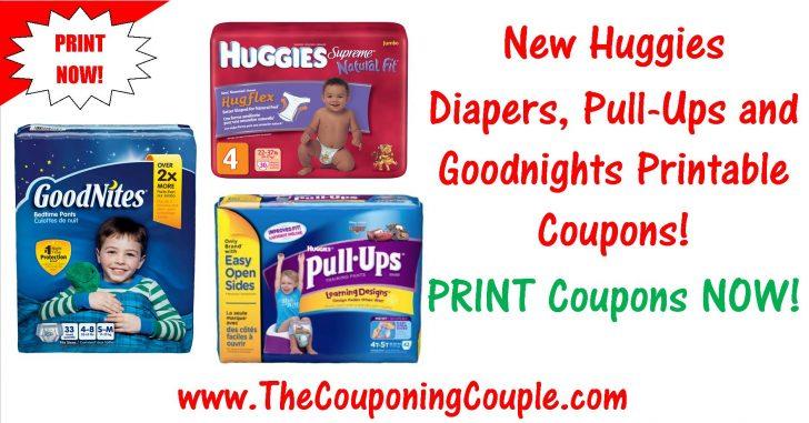 Free Printable Coupons For Huggies Pull Ups