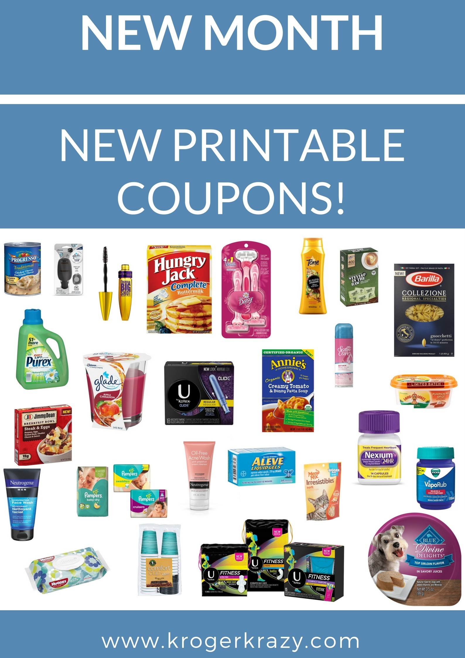 New Month! New Printable Coupons!! Progresso, Neutrogena, Glade, All - Free Printable Chinet Coupons