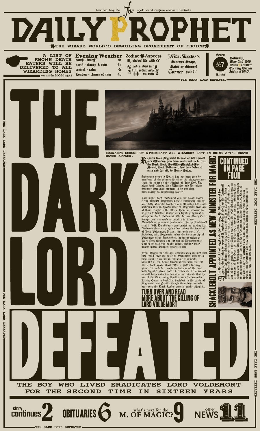New Paper Poster Printable Harry Potter   Harry Potter Printable - Free Printable Harry Potter Posters