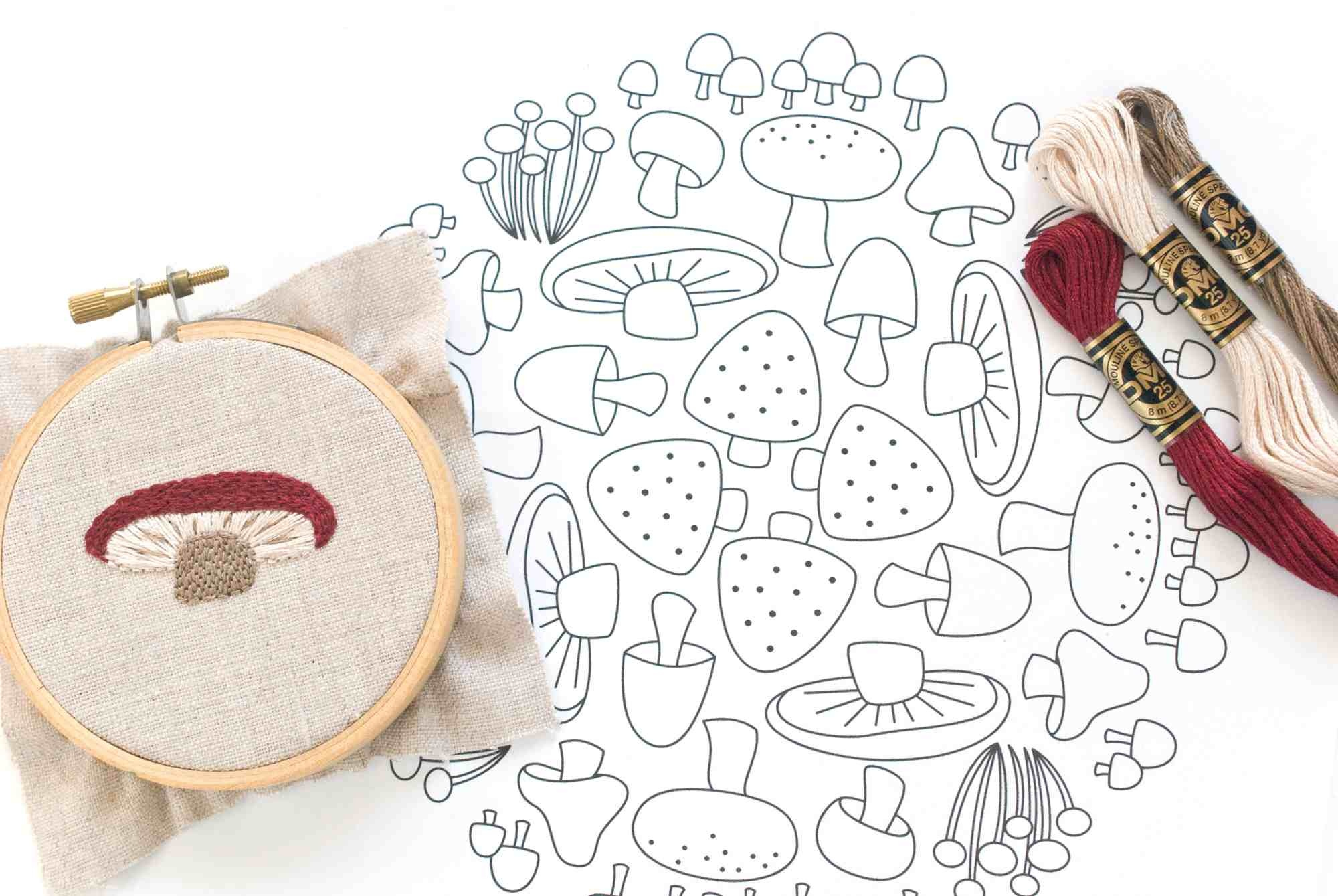 Our Top 25 Free Embroidery Designs - Free Printable Embroidery Patterns