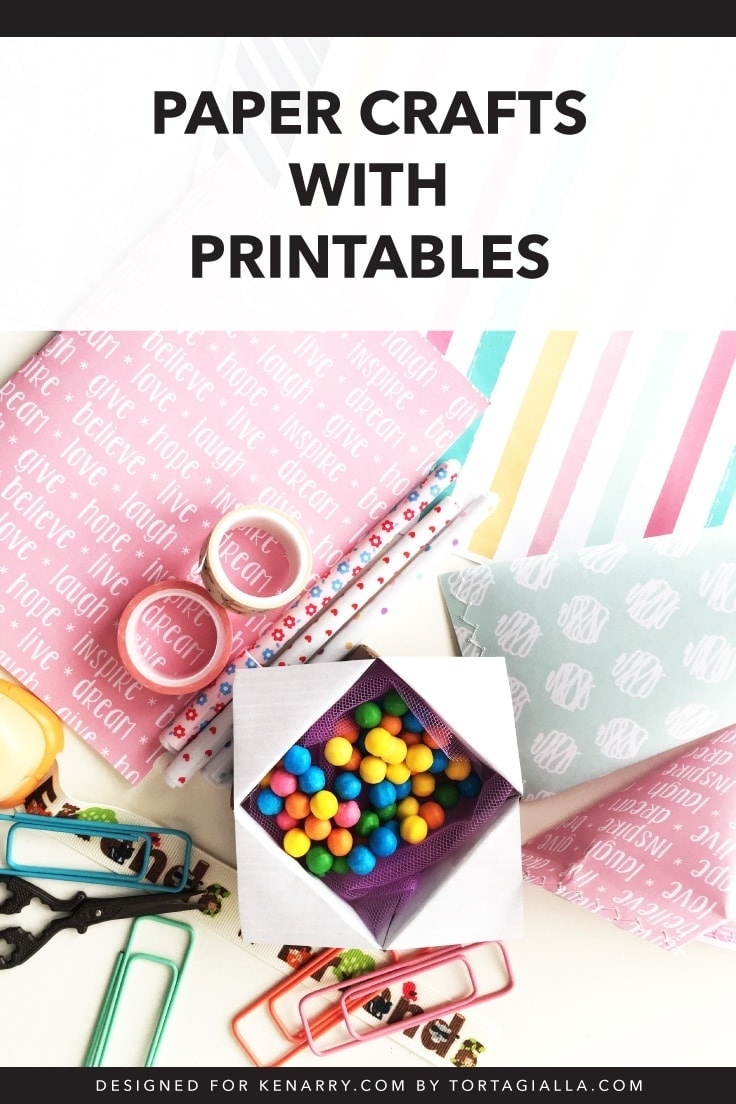 Paper Crafts With Printables: Free Download   Ideas For The Home - Printable Paper Crafts Free
