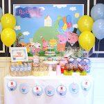 Peppa And George Pig Birthday Party – Part 1 / – Peppa Pig Birthday Banner Printable Free