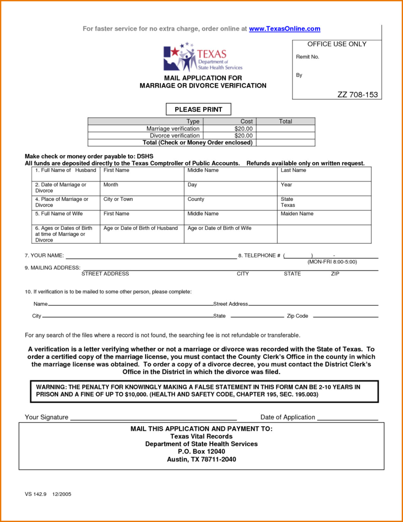 Petition For Divorce Form Texas Fresh Best S Free Separation Form - Free Printable Divorce Forms Texas