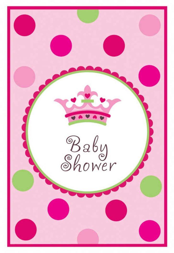 Free Printable Princess Baby Shower Invitations
