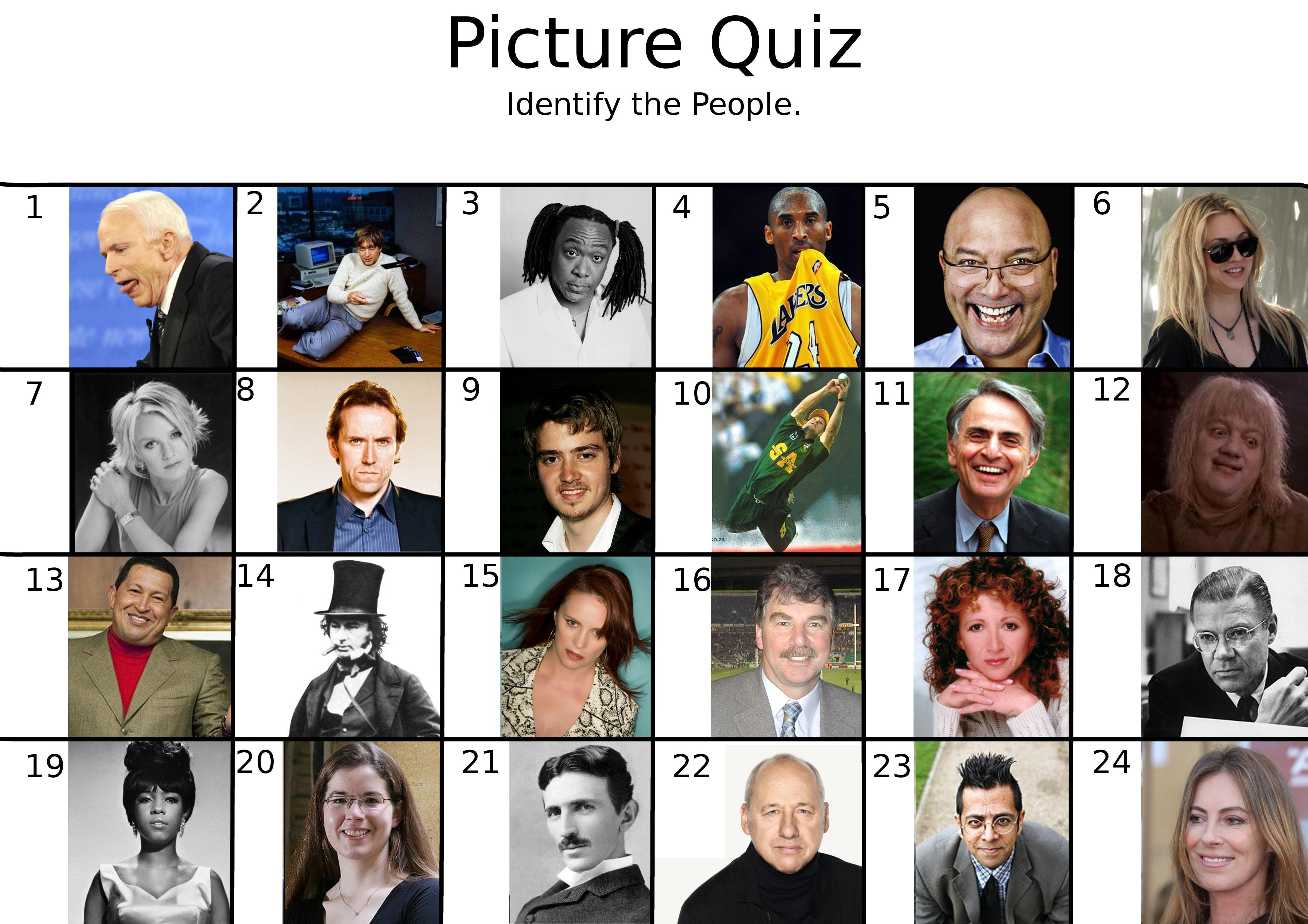 Picture Quizzes - Free Printable Picture Quizzes With Answers