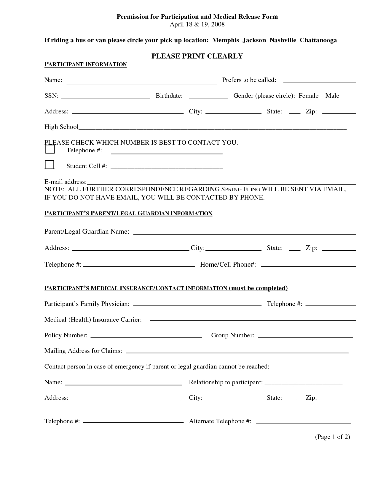 Pingiovanni Mastrocola On Pain No Gain   Incident Report Form - Free Printable Medical Forms Kit
