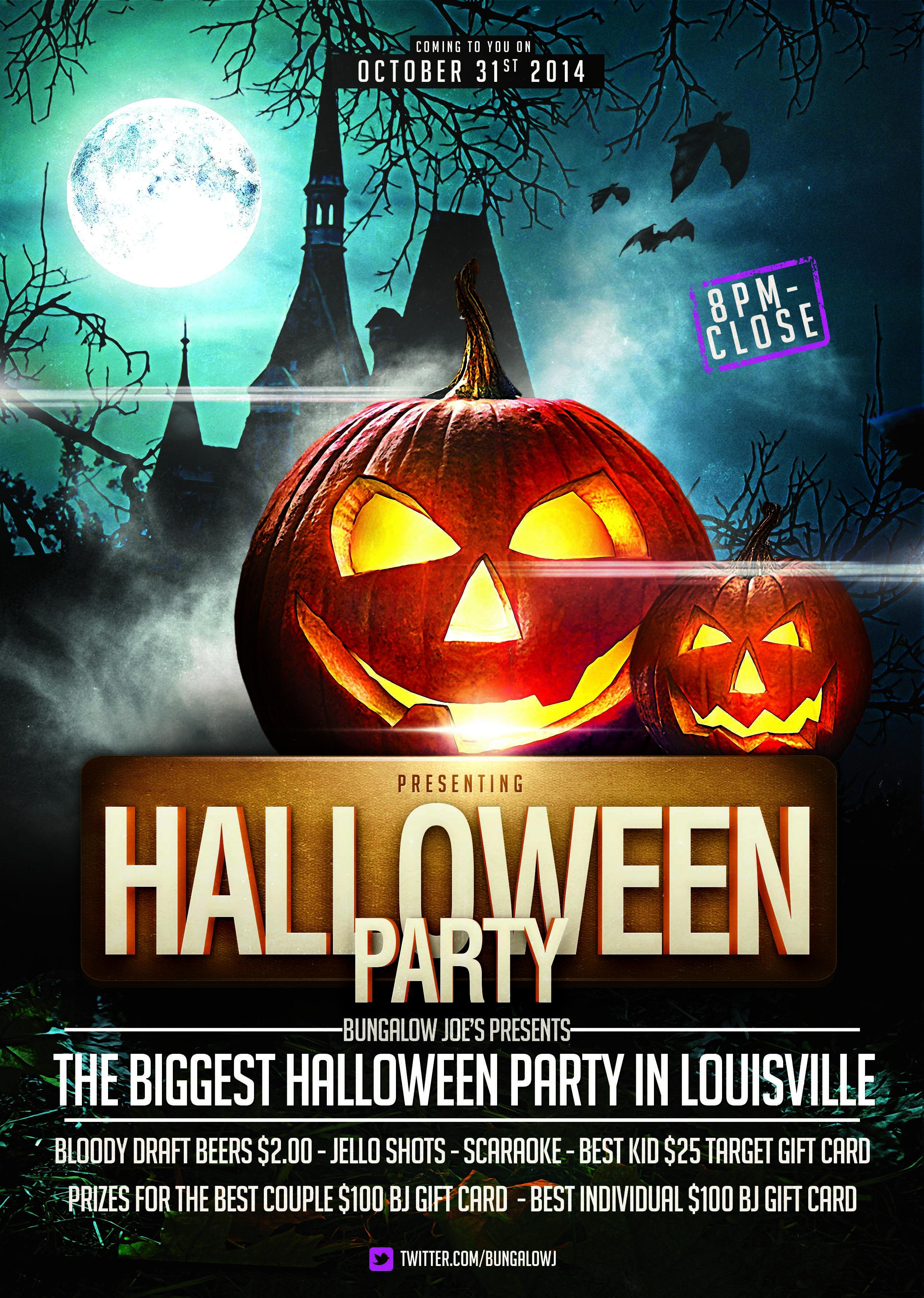 Pinkrishnee Ladsawut On Night Club - Posters   Halloween - Free Printable Halloween Flyer Templates
