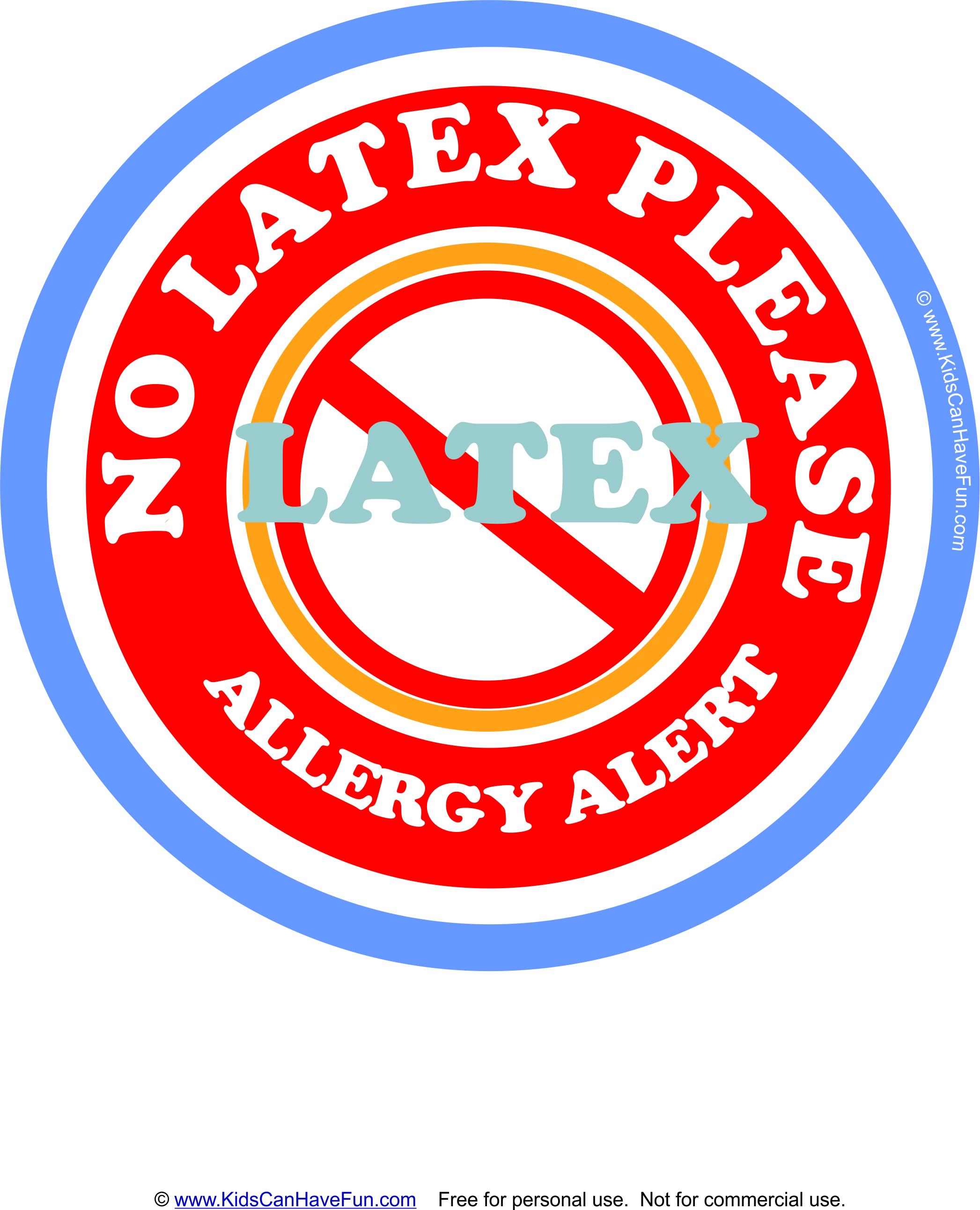 Pinpinning Teacher On Classroom First Aid | Latex Allergy, Nut - Printable Peanut Free Classroom Signs