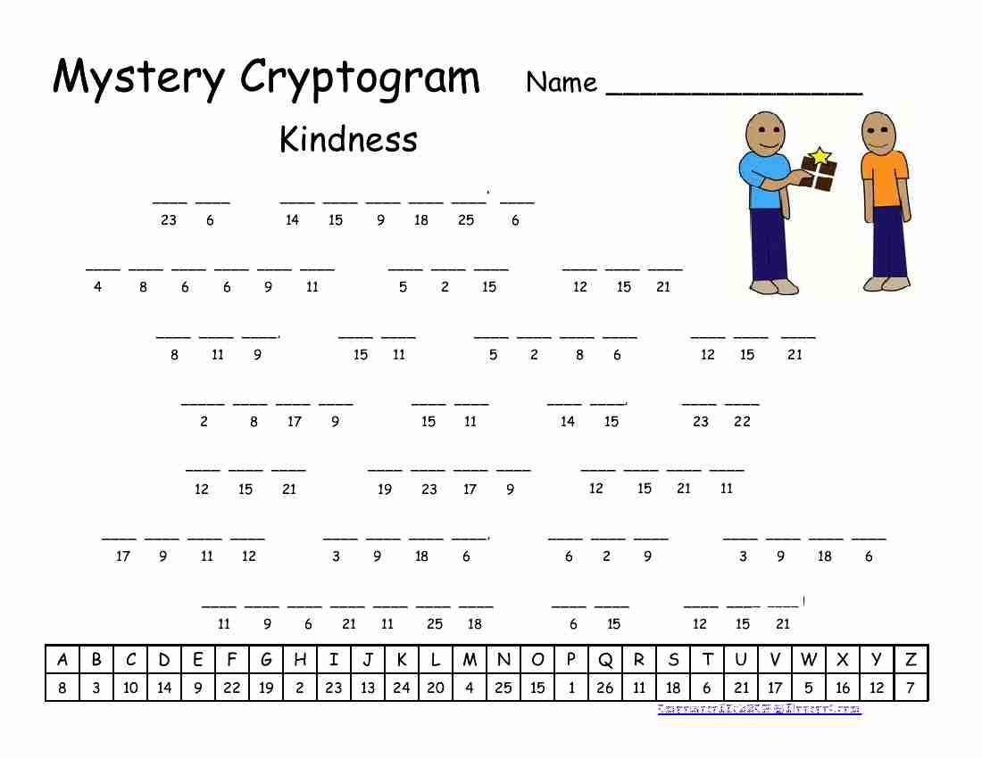 Pinrawa'a El-Hussein On Cryptogram | Word Puzzles Printable - Free Printable Cryptograms With Answers