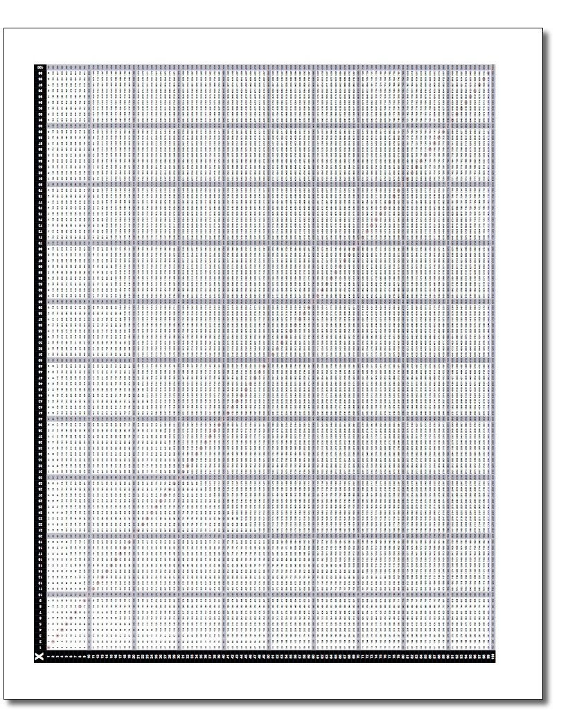 Printable 100X100 Multiplication Chart Pdf Great For Discovering - Free Printable Multiplication Chart 100X100