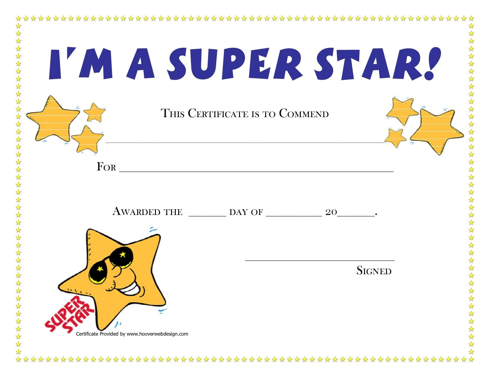 Printable Award Certificates For Students | Craft Ideas | Award - Free Printable Certificates For Students