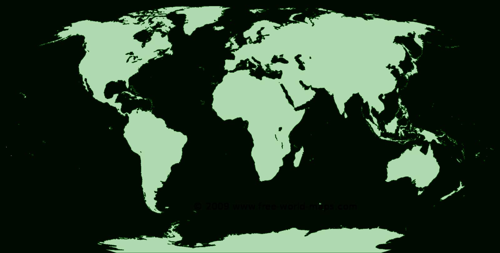 Printable Blank World Maps   Free World Maps - Free Printable World Map Images