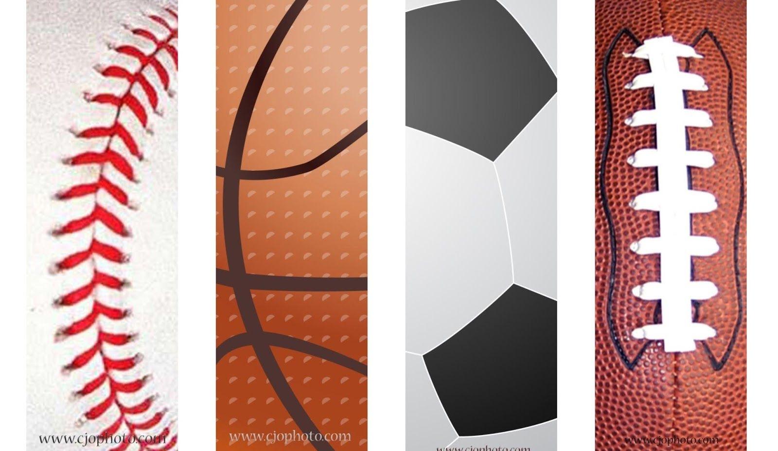 Printable Bookmarks: Sports   Free Printable Bookmarks   Bookmarks - Free Printable Sports Bookmarks
