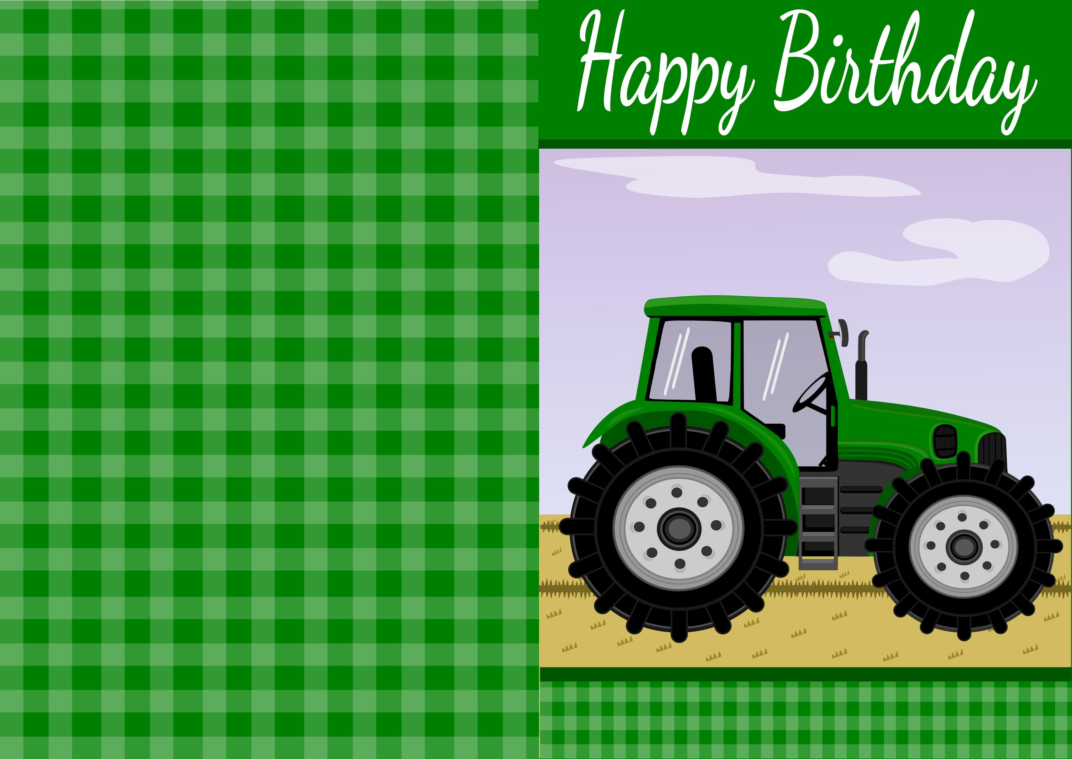 Printable Cards   Party Ideas   Free Printable Birthday Cards, Free - Free Printable John Deere Food Labels