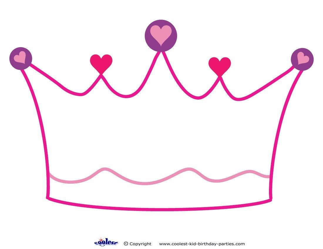 Printable Crown Decoration - Coolest Free Printables   Princess - Free Printable Crown