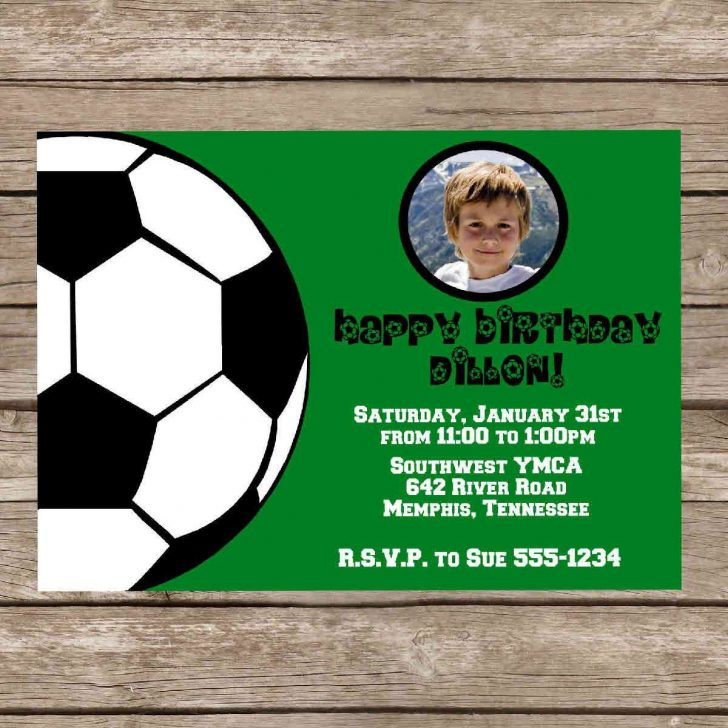 Free Printable Soccer Birthday Invitations