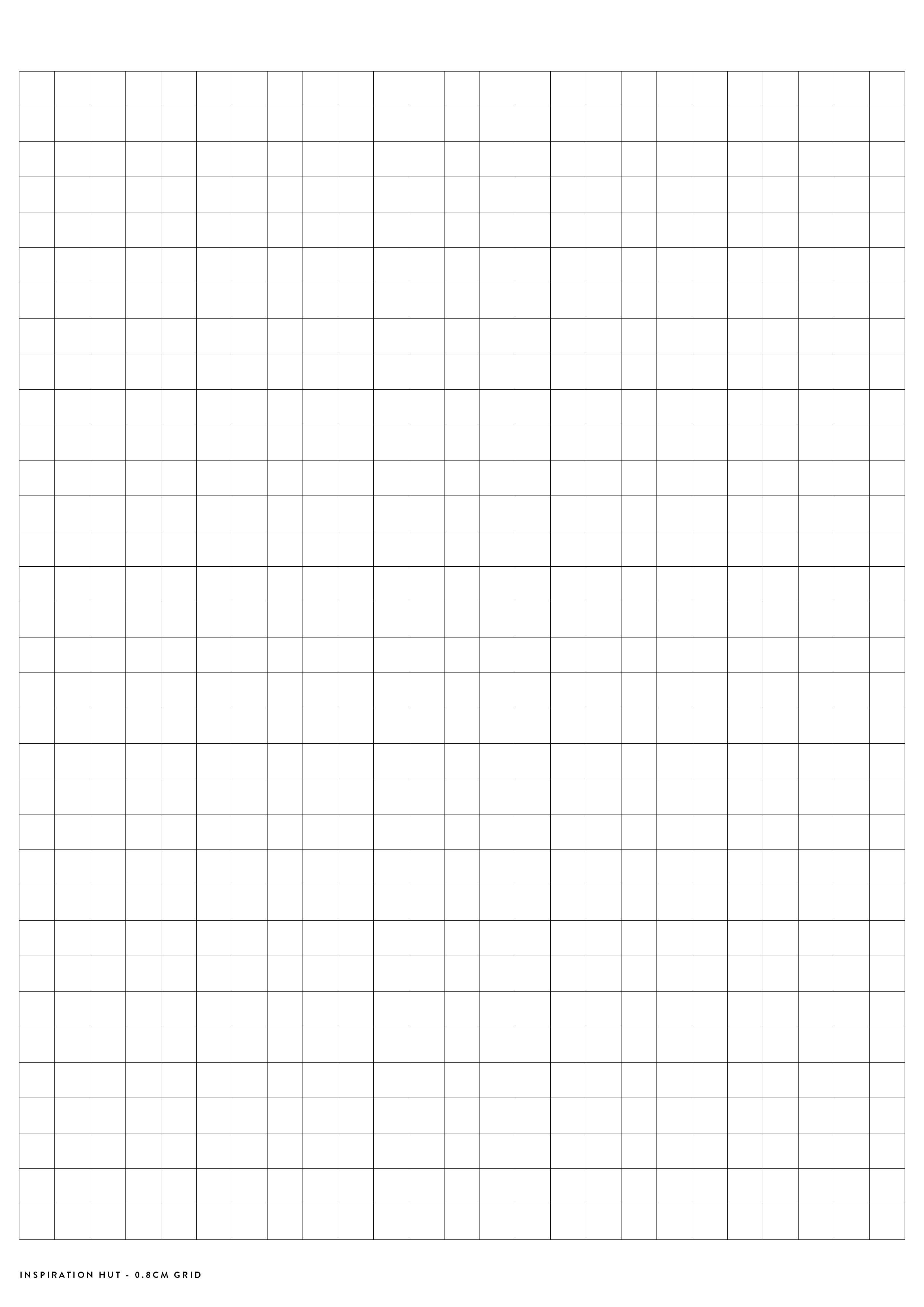 Printable Graph / Grid Paper Pdf Templates - Inspiration Hut - Free Printable Grid Paper