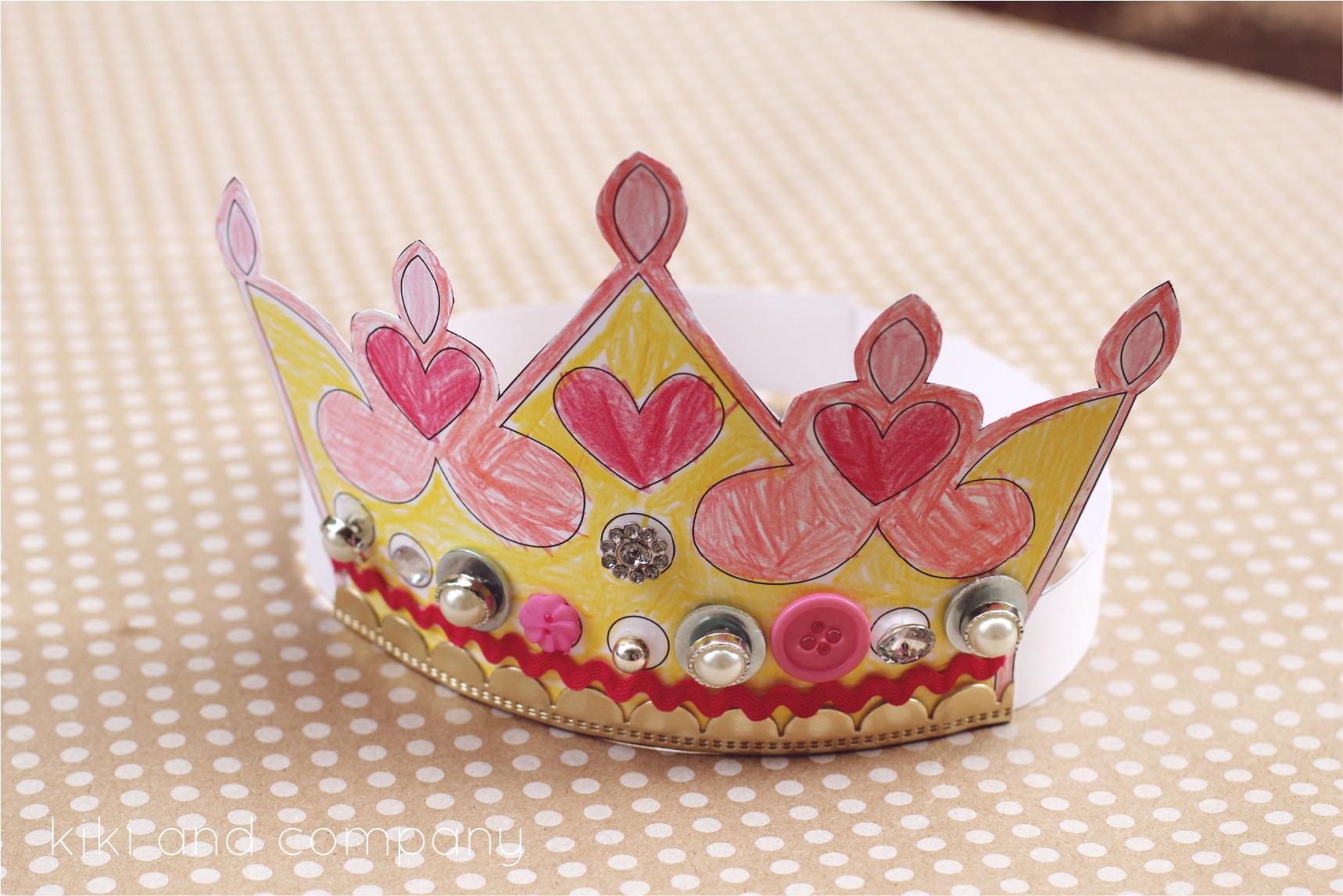 Printable Kings And Queens Crown {Free Printable}   Crafts   King - Free Printable Crown