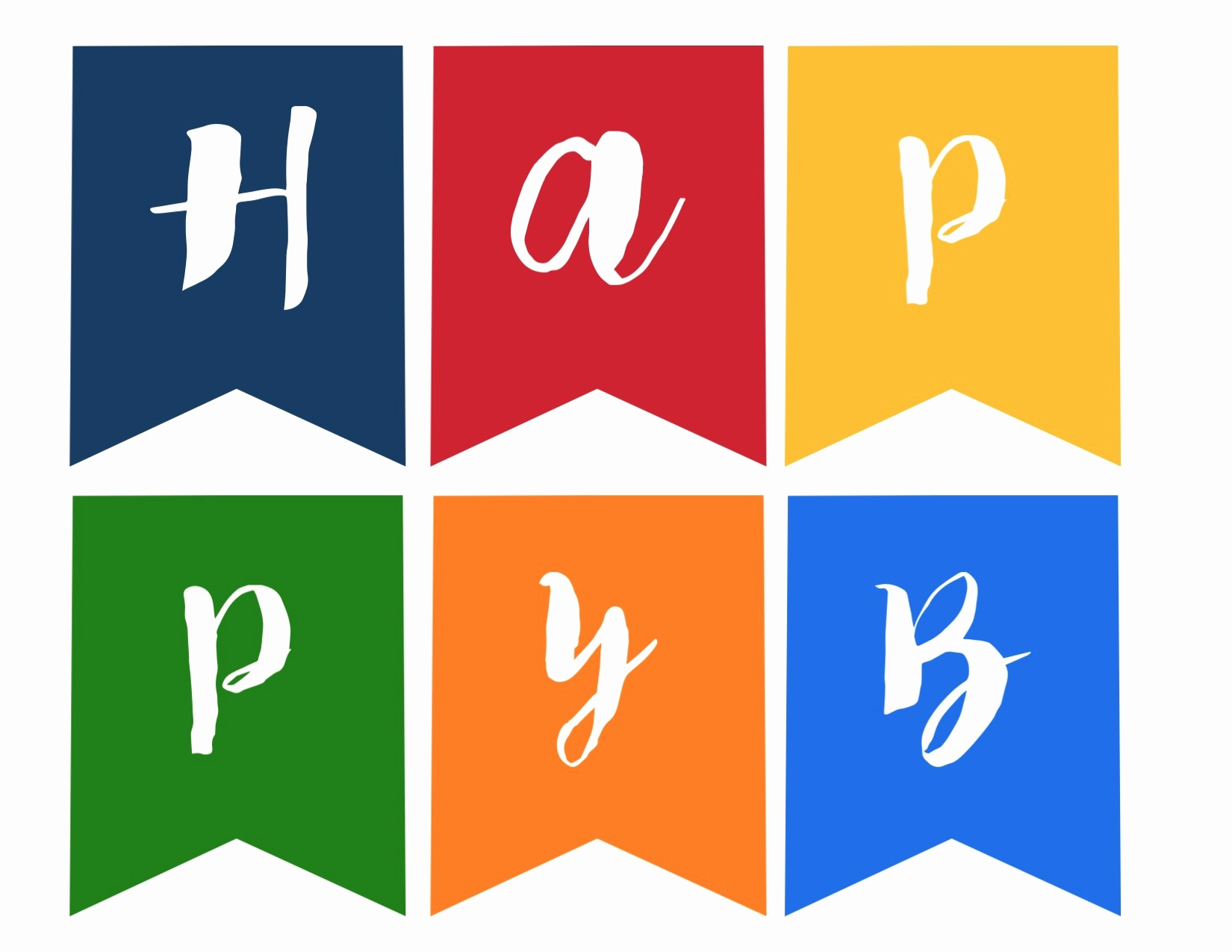 Printable Party Banner Template And Happy Birthday Banner Free - Birthday Banner Templates Free Printable