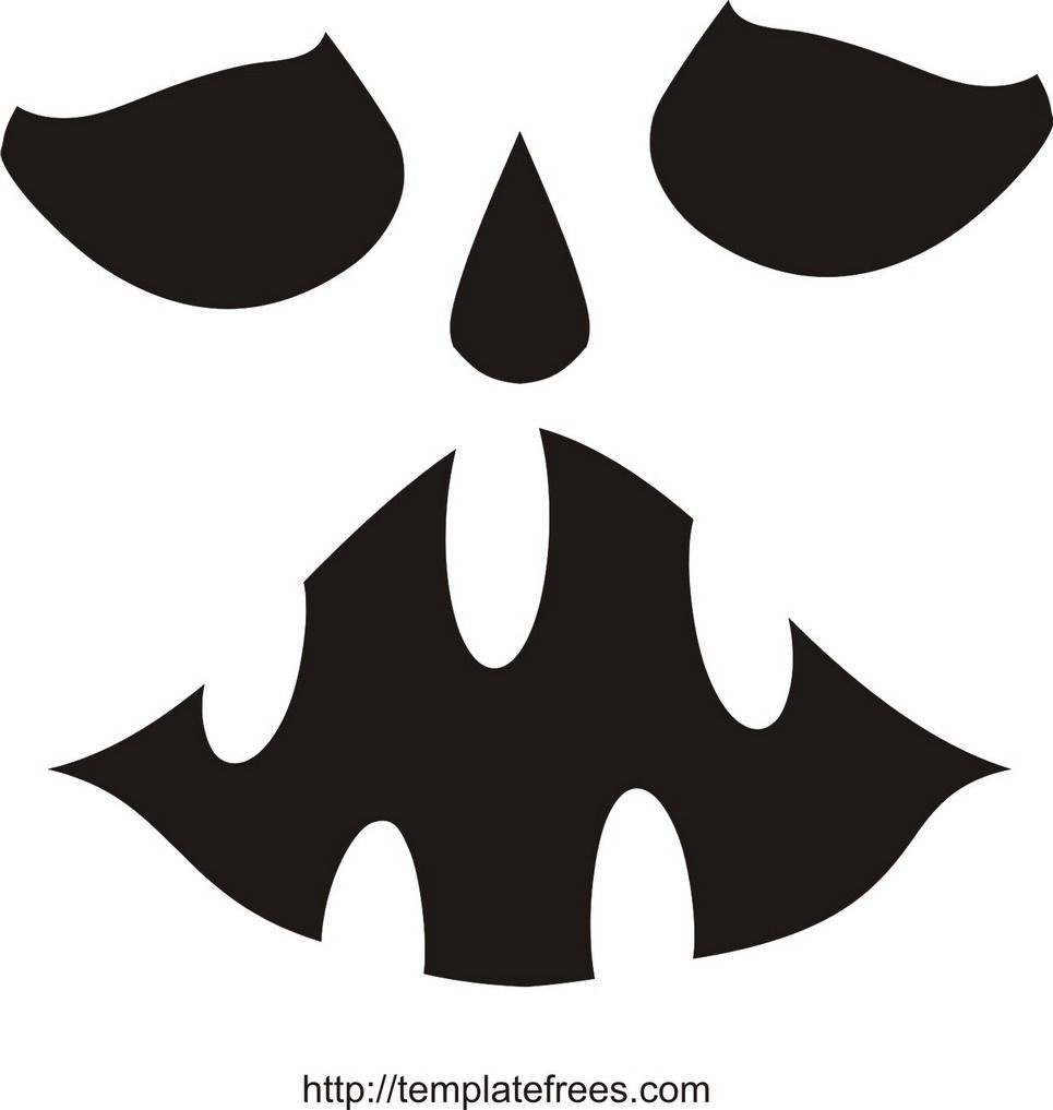 Printable Scary Pumpkin Carving Stencils   Free Printable Pumpkin - Scary Pumpkin Patterns Free Printable