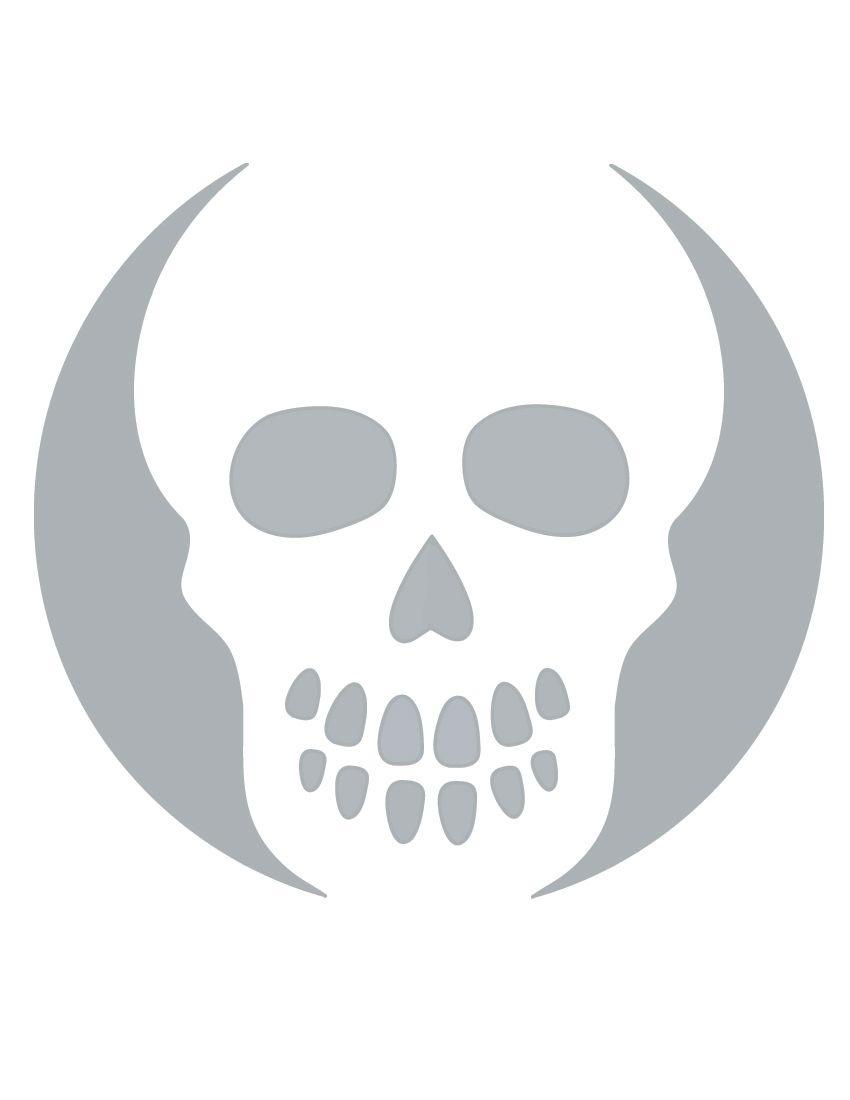 Printable Skull Stencil Coolest Free Printables   Halloween   Skull - Free Printable Pumpkin Stencils