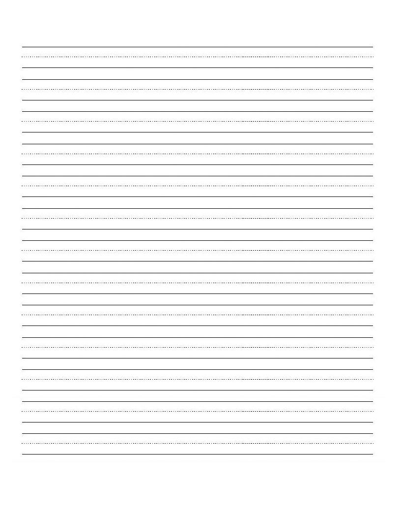 Printable+Blank+Writing+Worksheet   Teaching   Writing Practice - Blank Handwriting Worksheets Printable Free