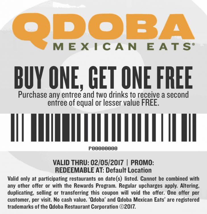 Bogo Free Coupons Printable