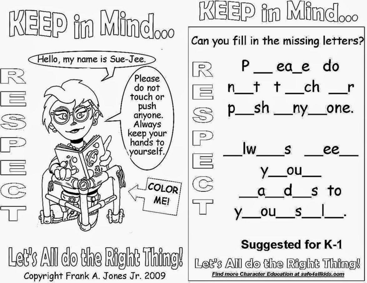 Respect Coloring Pages Free - Coloring Home - Free Printable Coloring Pages On Respect