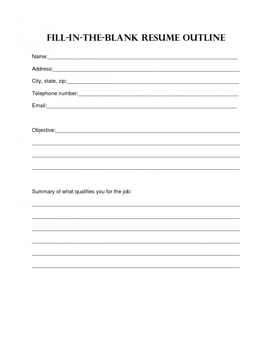 Resume Design. Blank Resume Template Sample Blank Resume Templates - Free Online Resume Templates Printable
