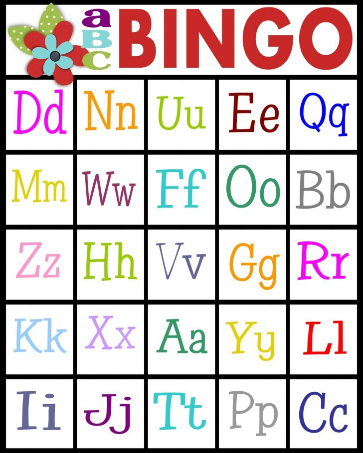 Free Printable Alphabet Bingo Cards