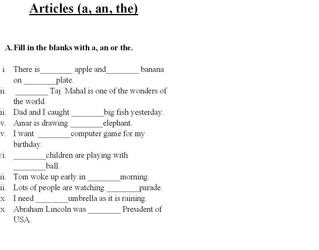 Saved Free Printable English Grammar Worksheets For Grade 6 2 - Free Printable Grammar Worksheets For 2Nd Grade