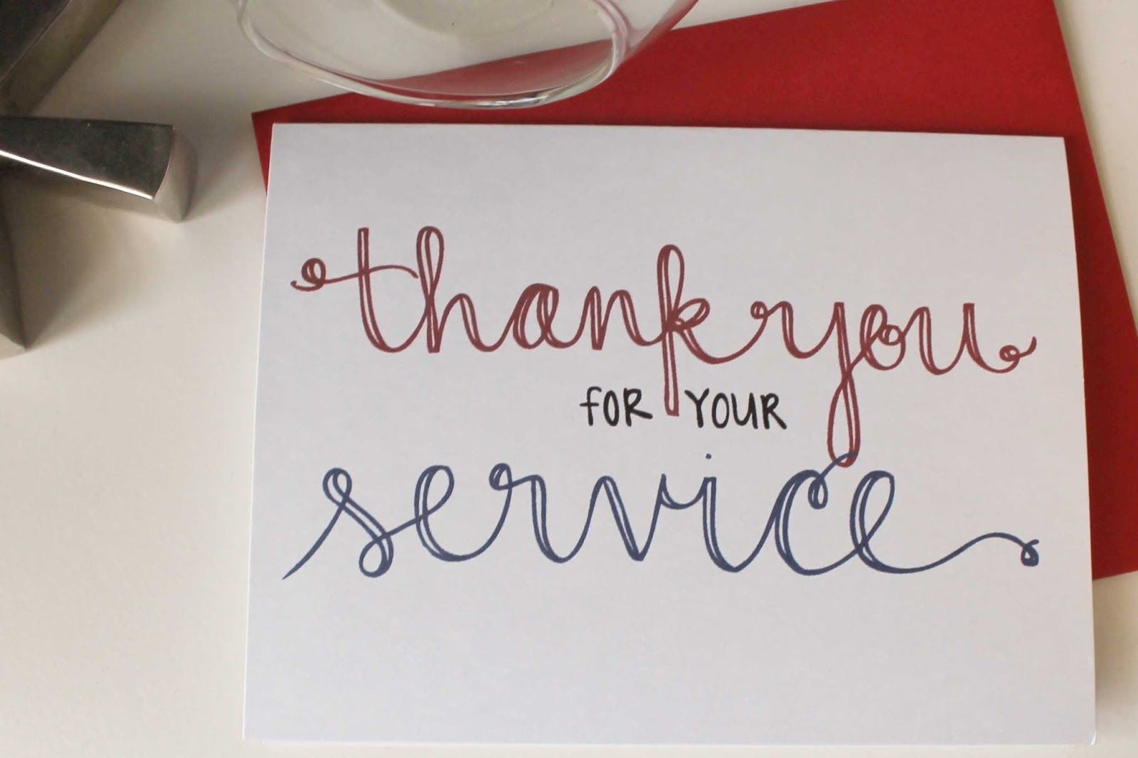 Send A Thank You Card To Our Troops   School   Veterans Day Gifts - Free Printable Thank You Cards For Soldiers