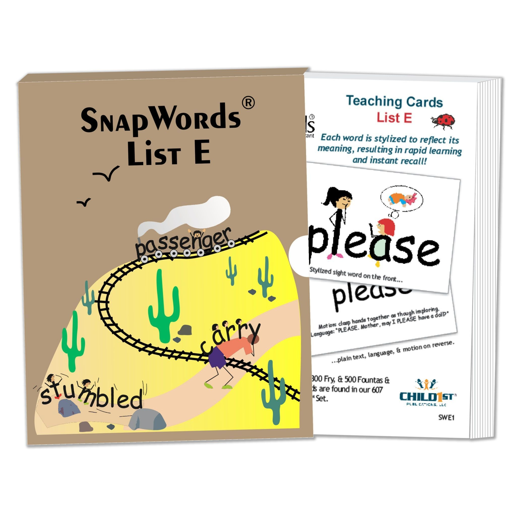Snapwords® List E Teaching Cards   Products   Teaching, Cards, Sight - Free Printable Snapwords