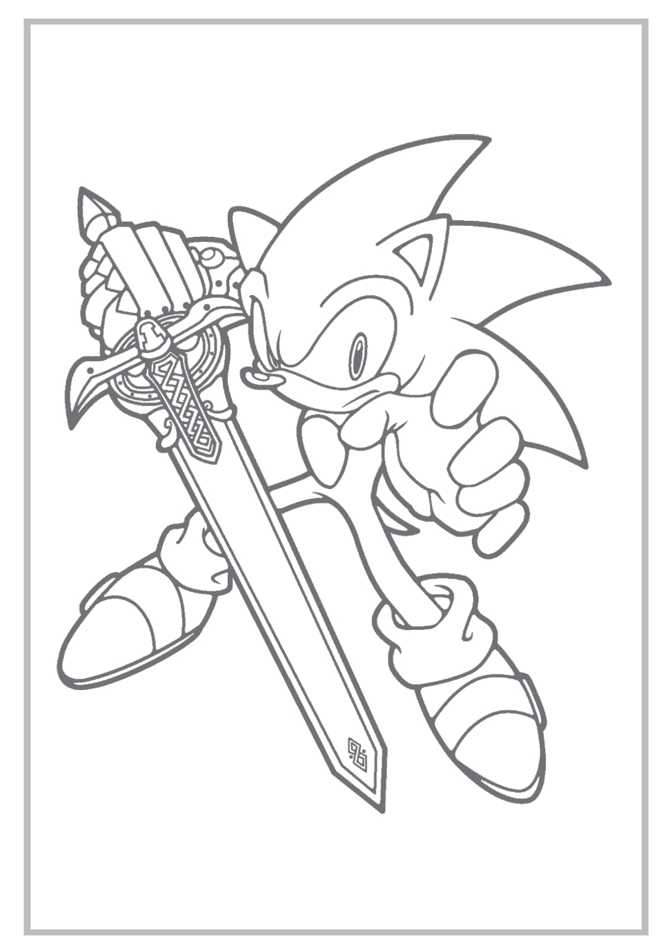 Sonic Coloring Pages | Sonic The Hedgehog Coloring Pages Free - Sonic Coloring Pages Free Printable
