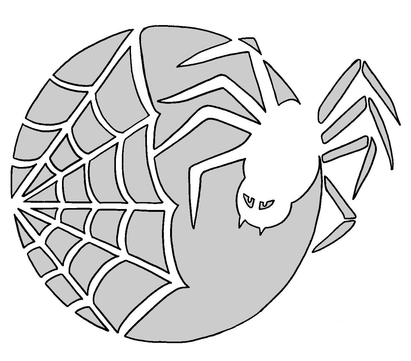 Spider Web Pattern   Spider Man Party In 2019   Pumpkin Carving - Spider Web Stencil Free Printable