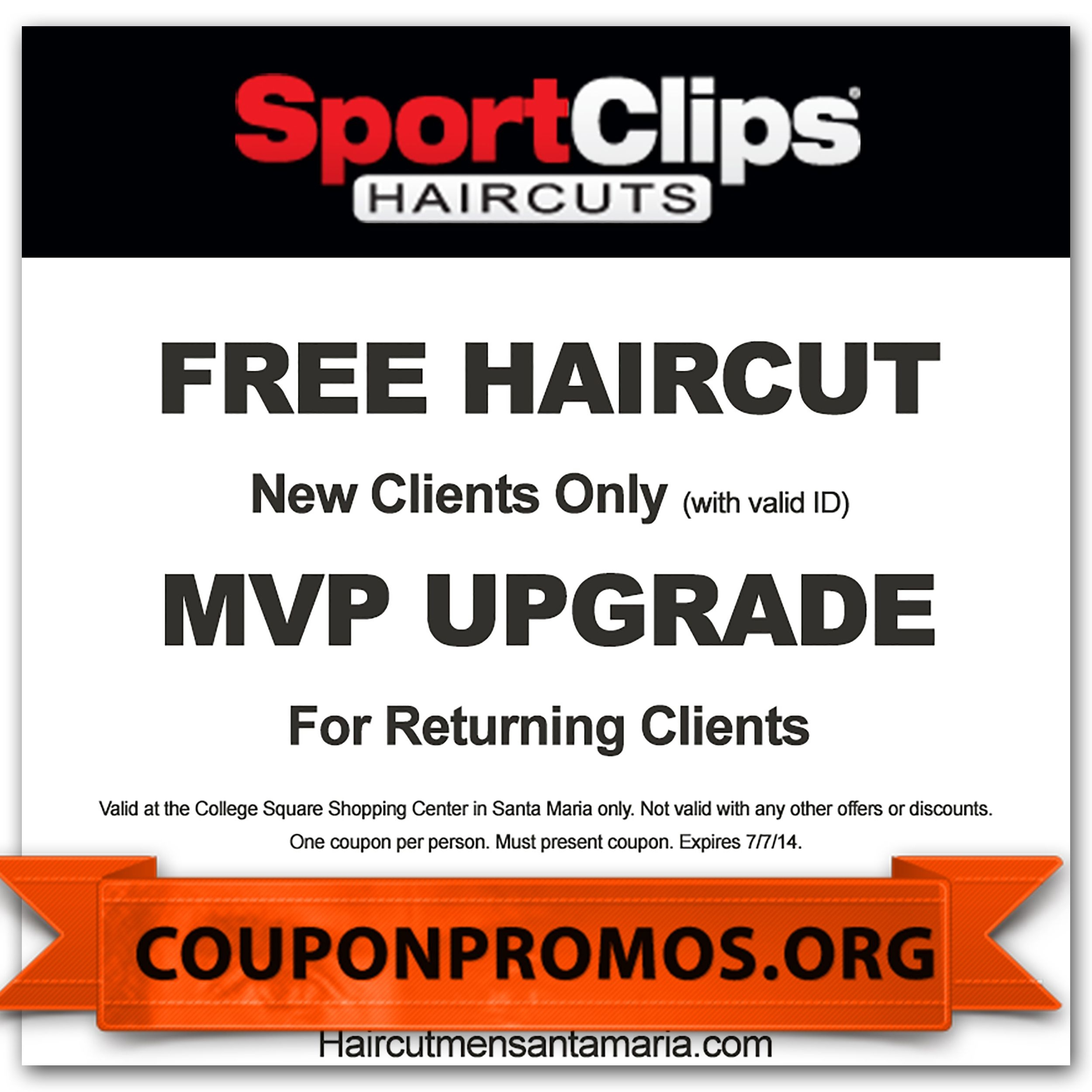 Sports Clips Coupons For November December   Coupons For Free - Sports Clips Free Haircut Printable Coupon